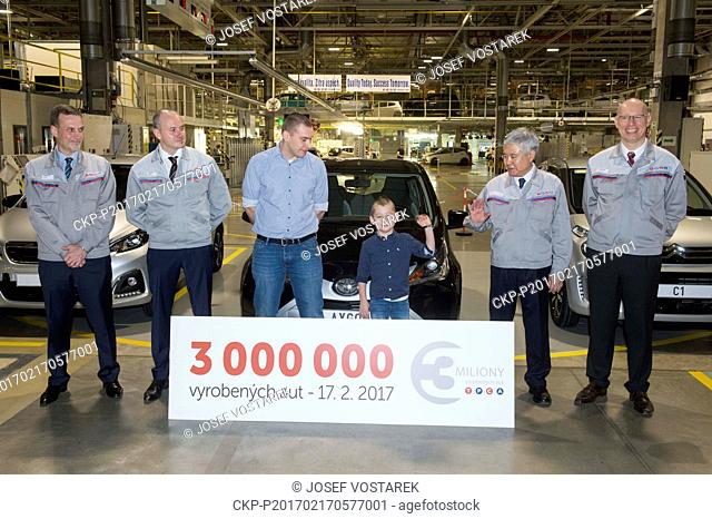 The Kolin plant, joint-venture between PSA Peugeot Citroen and Toyota Motor Corporation, celebrates today the production of its three millionth vehicle in...
