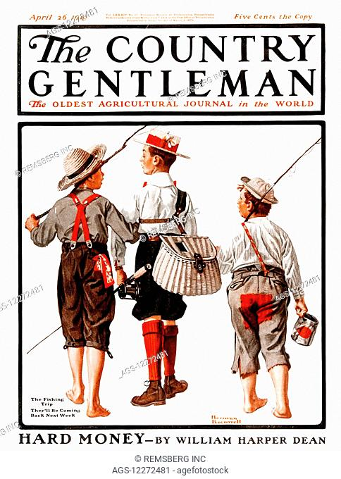 Cover of Country Gentleman agricultural magazine from the early 20th century.