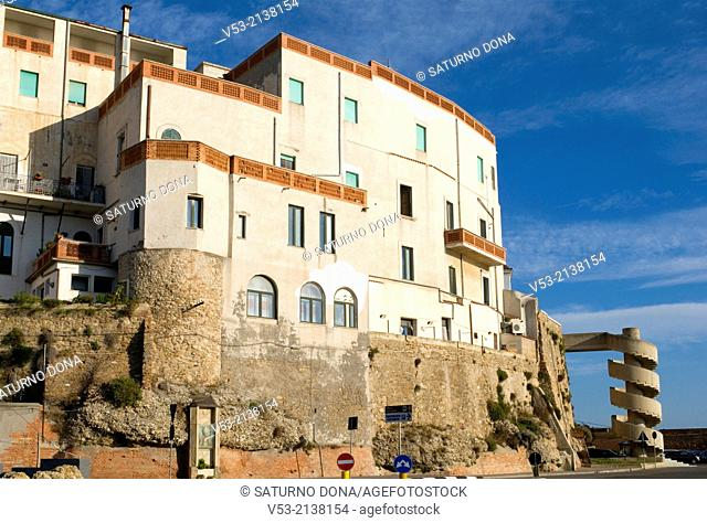 Termoli old town, region of Molise, Italy