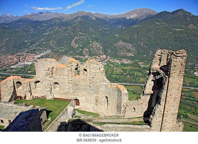 Sacra di San Michele, Valle di Susa, Piedmont, Italy