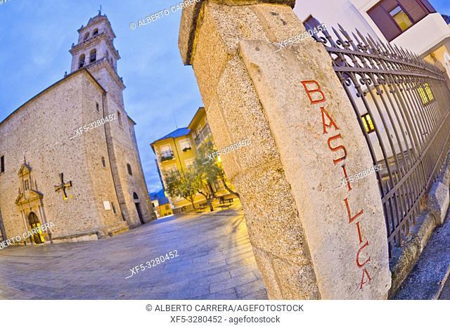 Basílica de la Virgen de la Encina, 17th Century Renaissance-Baroque Style, Ponferrada, El Bierzo Region, León Province, Castilla y León, Spain, Europe