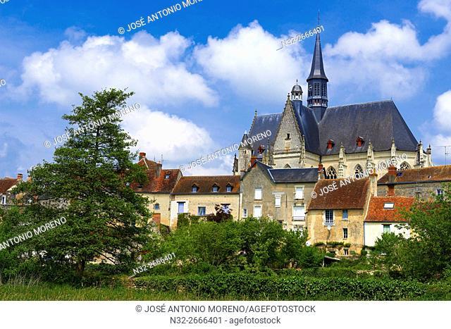 Montresor, Labelled Les Plus Beaux Villages de France, The Most Beautiful Villages of France, Indre-et-Loire, Pays de la Loire, Loire Valley