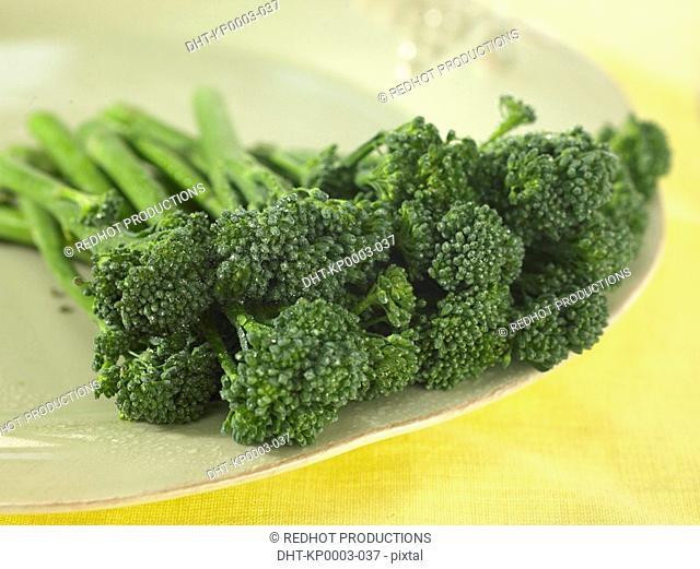 Pile of Tender Stem Broccoli
