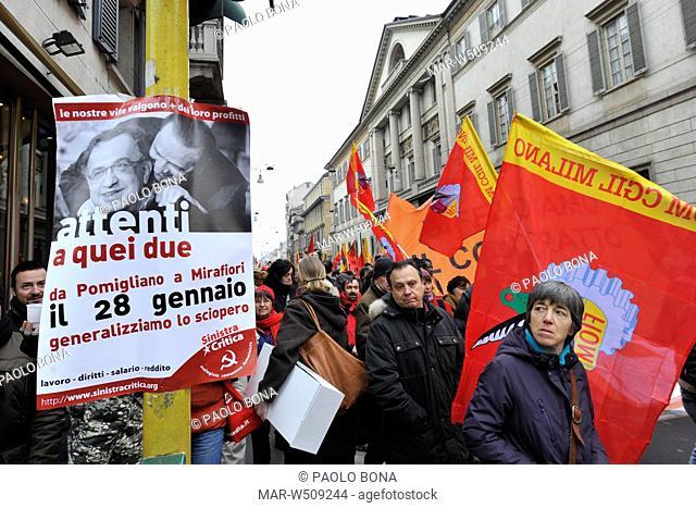 sciopero lavoratori