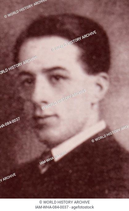 Photographic portrait of Ernesto Halffter (1905-1989) a Spanish composer and conductor. Dated 20th Century