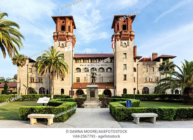 The Lightner Museum formerly The Hotel Alcazar in St. Augustine, Florida