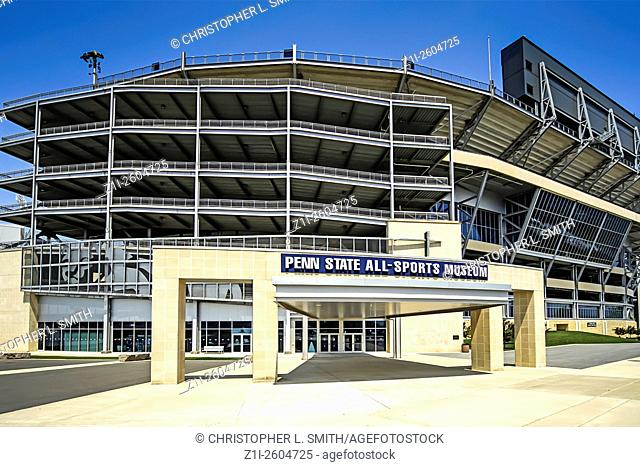 Penn State University Football Stadium at State College PA