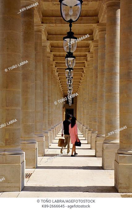 Palais Royale. Paris. France