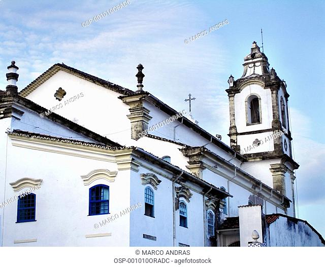a white church temple building structure from bahia