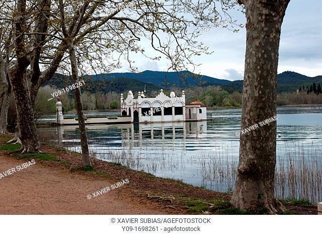 Lake of Banyoles, Pla de l'Estany, Girona, Catalonia, Spain