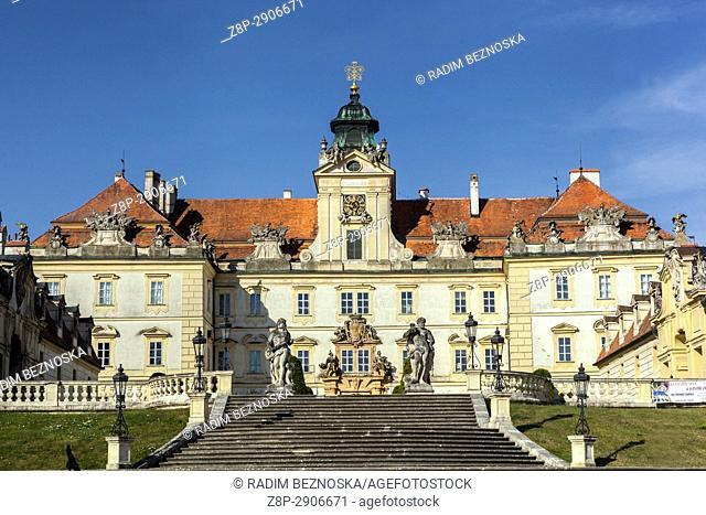 Valtice Castle, UNESCO, South Moravia, Czech Republic, Europe