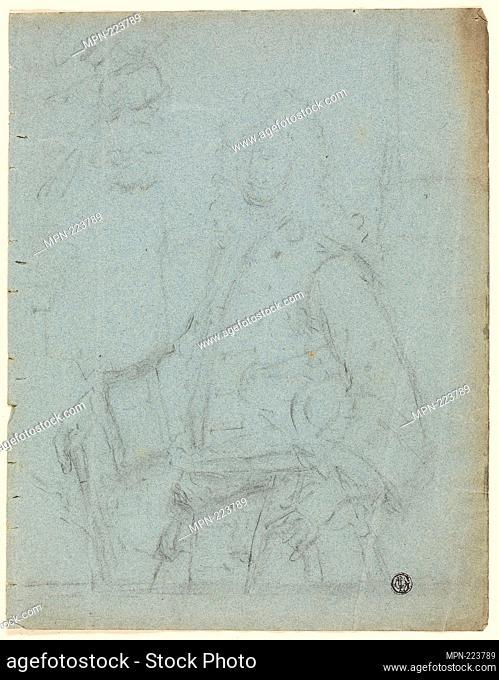 Portrait of a Man - Possibly William Hoare (English, c. 1707-1792) or Godfrey Kneller (English, born Germany, 1646-1723) or Charles Jervas (Irish, c