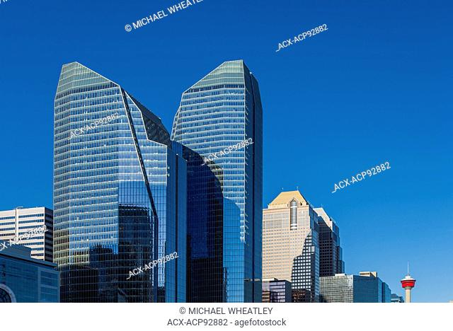 Eighth Avenue Place, one of the first LEED Platinum Office complexes in Canada, Calgary, Alberta, Canada