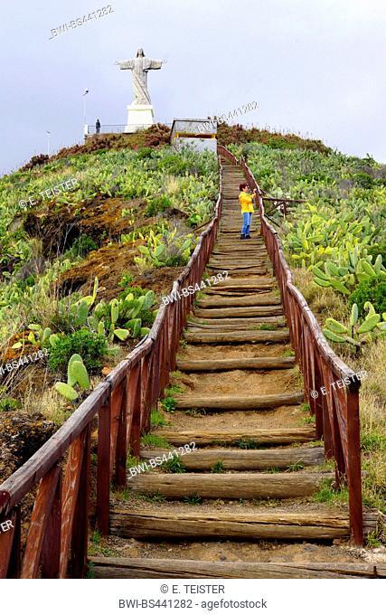 path to Christ the King statue, Madeira, Garajau