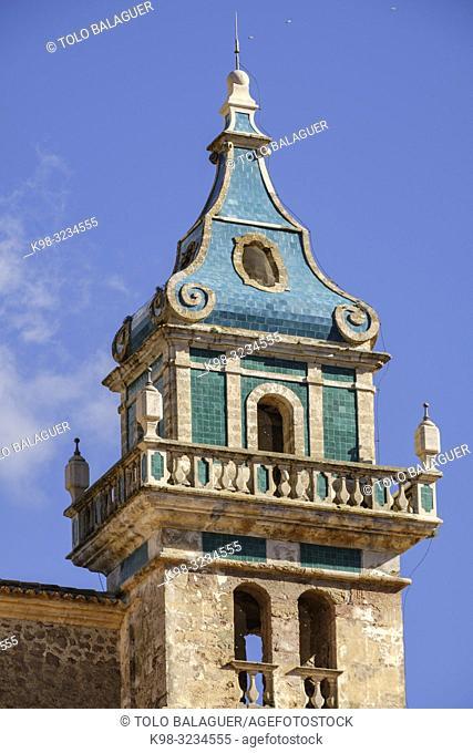 cartuja de Valldemosa, la Cartoixa de Valldemossa, Mallorca, Balearic islands, spain