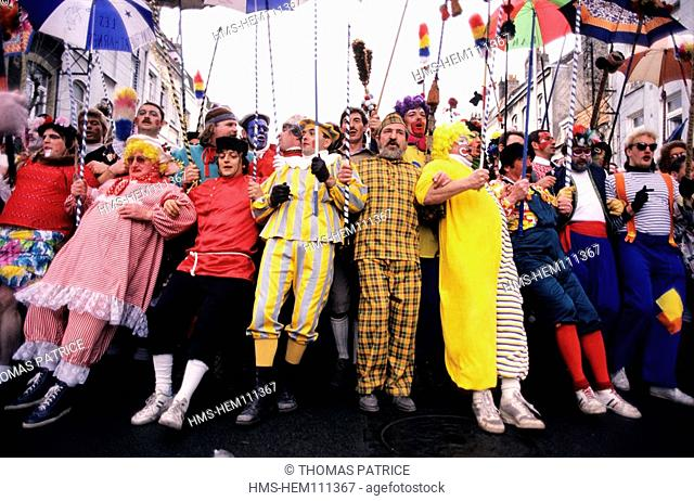 France, Nord, Dunkerque's carnival