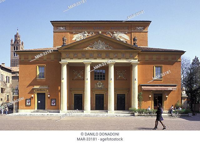 town theatre, carpi, italy