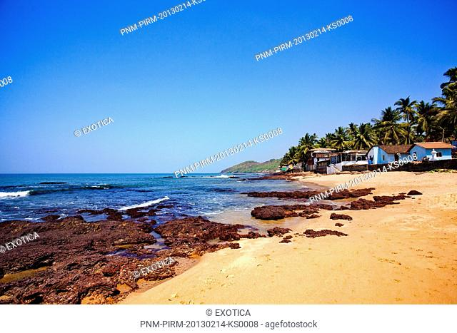 Anjuna Beach, Anjuna, North Goa, Goa, India