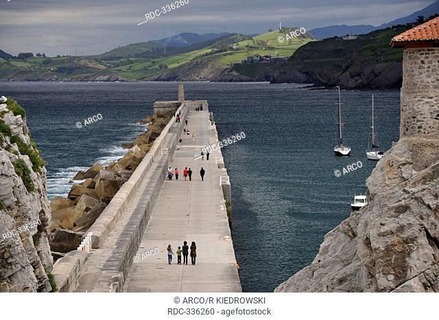 Habour, Castro-Urdiales, Cantabria, Spain