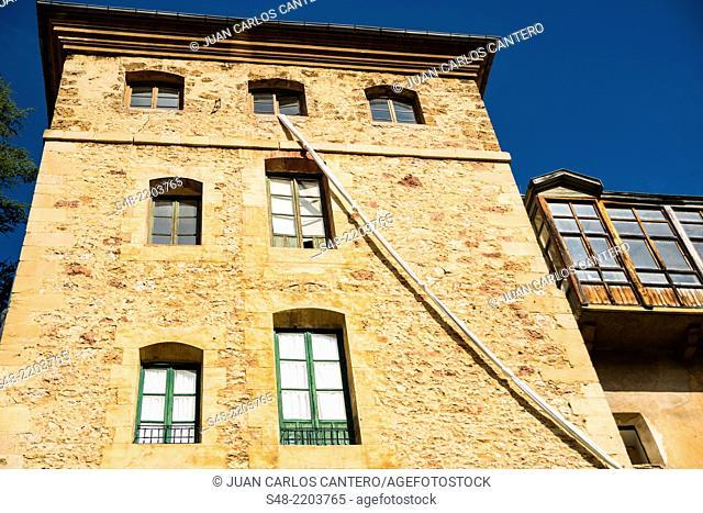The Secret Garden in Oña. Burgos. Castilla y Leon. Spain. Europe