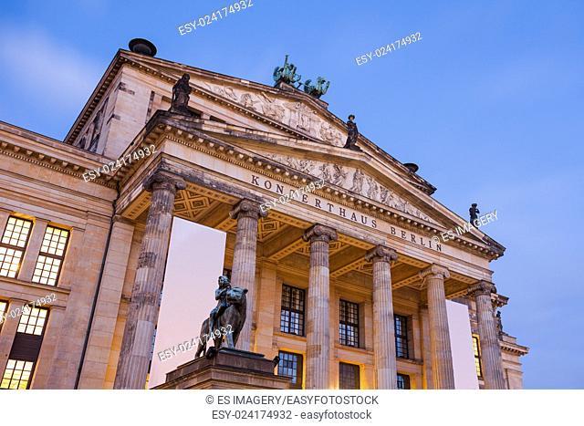 Konzerthaus Berlin (Berlin Concert Hall) on the Gendarmenmarkt