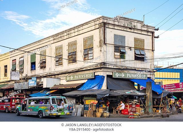 J. Melliza Building on the Central Market, Iloilo City, Western Visayas, Philippines