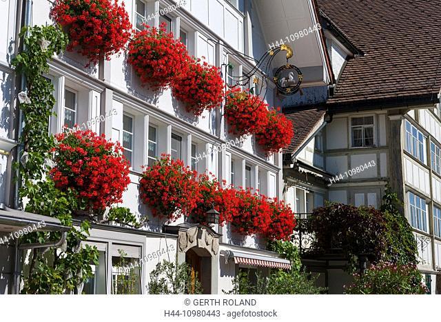 Stein village in the canton of Appenzell Ausserrhoden