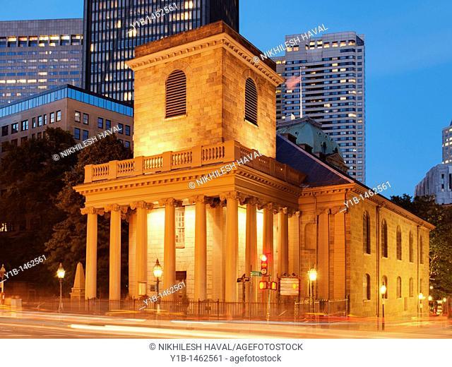 Kings Chapel, Boston