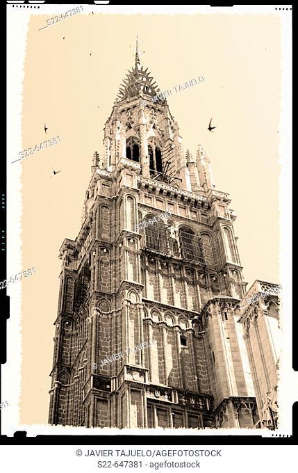 Gothic cathedral (13th-15th century), Toledo. Castilla-La Mancha, Spain