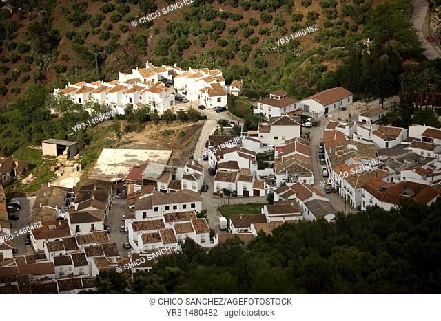 El Gastor village in the Sierra de Grazalema Natural Park, Cadiz province, Andalusia, Spain, april 25, 2011