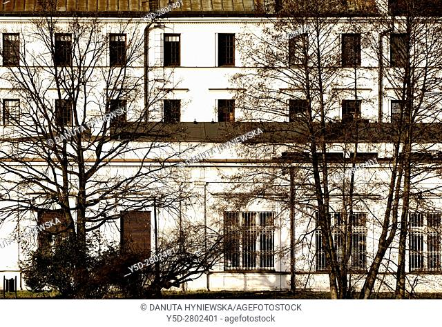 White Factory - Biala Fabryka, constructed in years 1835-1839 to host textile factory which belonged to Ludwik Geyer, currently it hosts Central Museum of...
