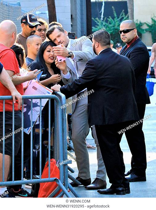 Celebrities outside the 'Jimmy Kimmel Live!' studios Featuring: Nikolaj Coster-Waldau Where: Los Angeles, California, United States When: 11 Jul 2017 Credit:...