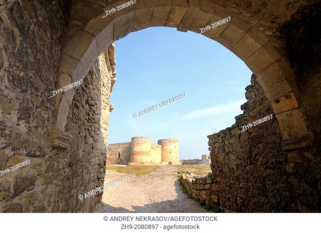 Gate, Akkerman fortress (white rock, white fortress), Belgorod-Dnestrovskiy , Ukraine, Eastern Europe