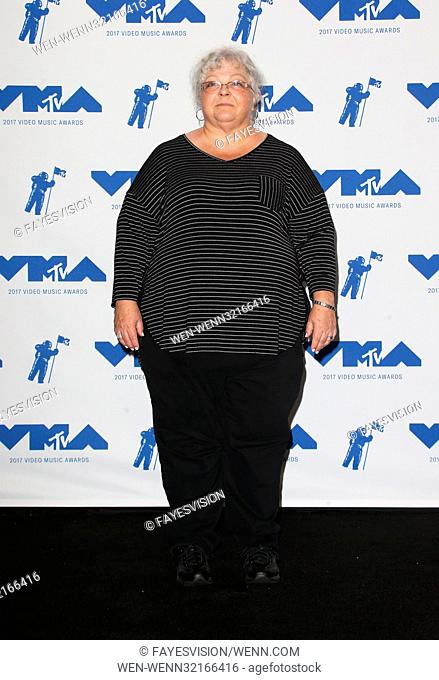 MTV Video Music Awards (VMA) 2017 Press Room, held at the Forum in Inglewood, California. Featuring: Susan Bro Where: Inglewood, California