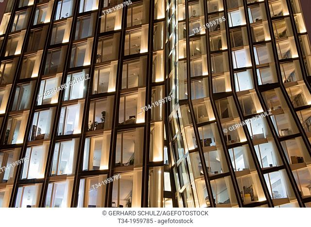 Dancing Towers Hamburg St. Pauli, Germany