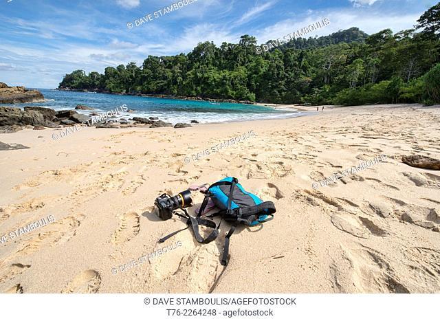 beautiful Teluk Hijau beach, Meru Betiri National Park, Java, Indonesia