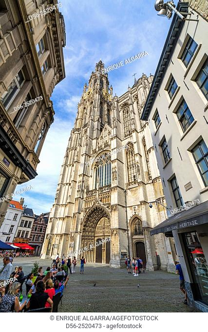Cathedral of Our Lady 1352-1521, Antwerp, Belgium
