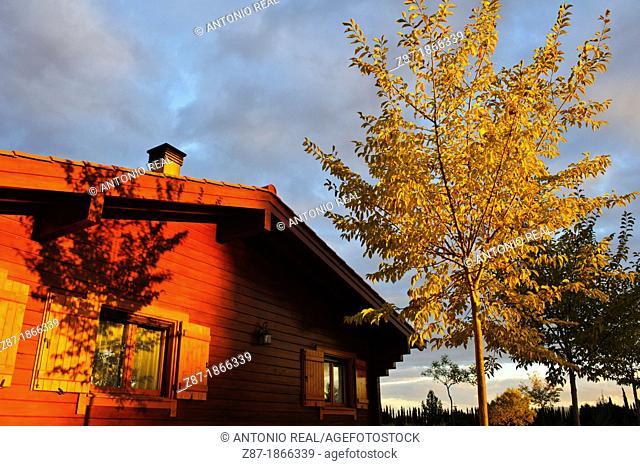 Wooden house, Almansa, Albacete