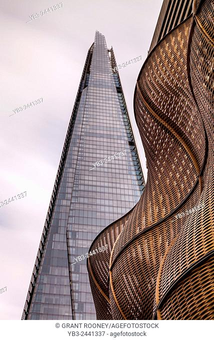 The Shard and The Boiler Suit at Guy's Hospital, London, England