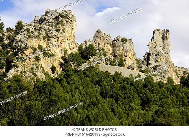 Landscape near Port de Sa Calobra, Mallorca, Spain / Landschaft bei Port de Sa Calobra, Mallorca, Spanien