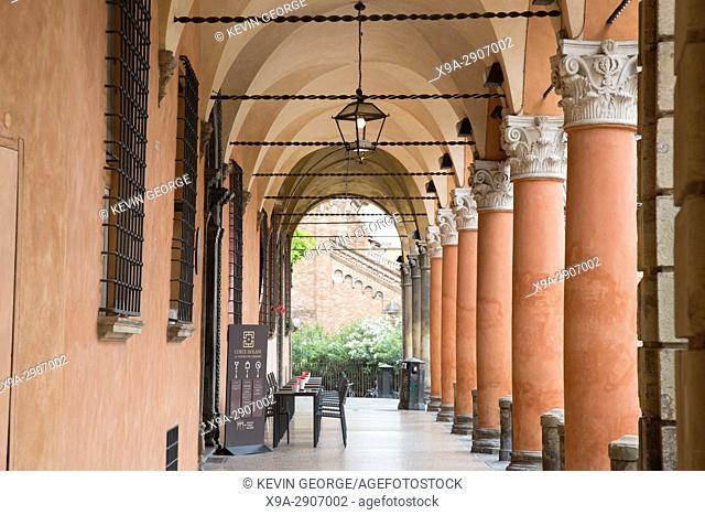 Palazzo Isolani with Portico; Santo Stefano Square; Bologna; Italy