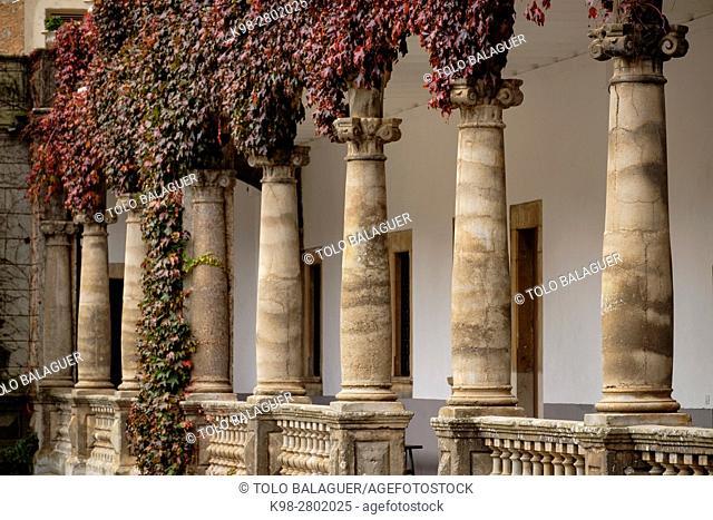 Lluc, Marian Sanctuary of the Balearic Islands from the 13th century, Escorca, Mallorca, Balearic Islands, Spain