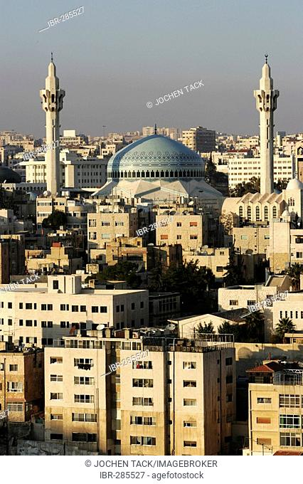 King Abdullah Mosque, Al-Abdali district, Amman, Jordan