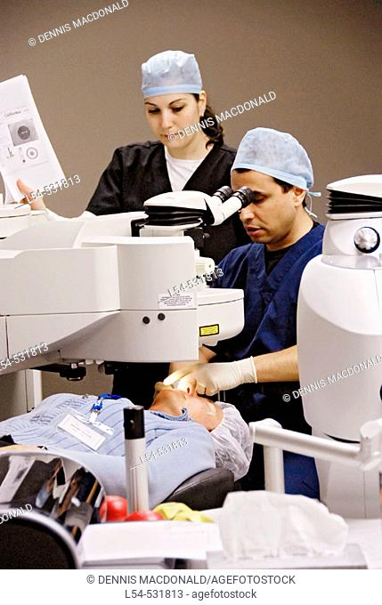 PRK and Lasik laser eye surgery is state of the art vision correction and surgical operation is performed at a laser eye center