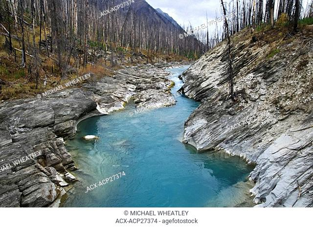 Vermilion River, Kootenay National Park, British Columbia, Canada