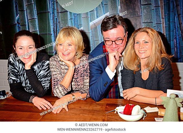 Celebrities attend the opening of Home on Earth store at Hackesche Hoefe Featuring: Antonia Feuerstein, Jutta Speidel, Stefan Feuerstein