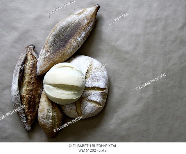 Picture about different kinds of breads