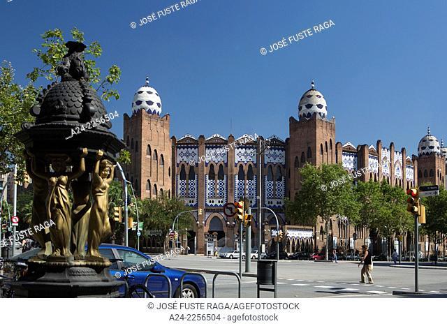 Spain , Catalunya,Barcelona City , former Monumental Bullfighting ring, Gran Via Avenue