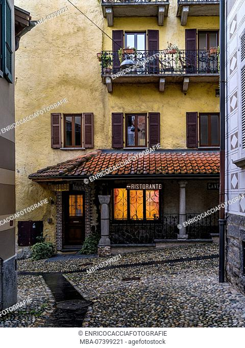 Restaurant in the historic center of Locarno