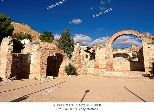 ruins of San Pedro,Hita, Guadalajara province,Castilla-La Mancha, Spain